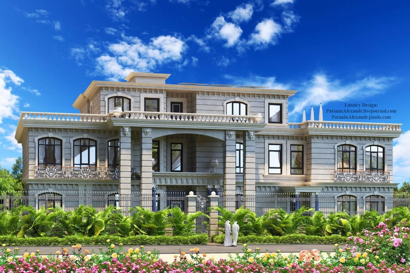 Luxury big villa. Dubai.