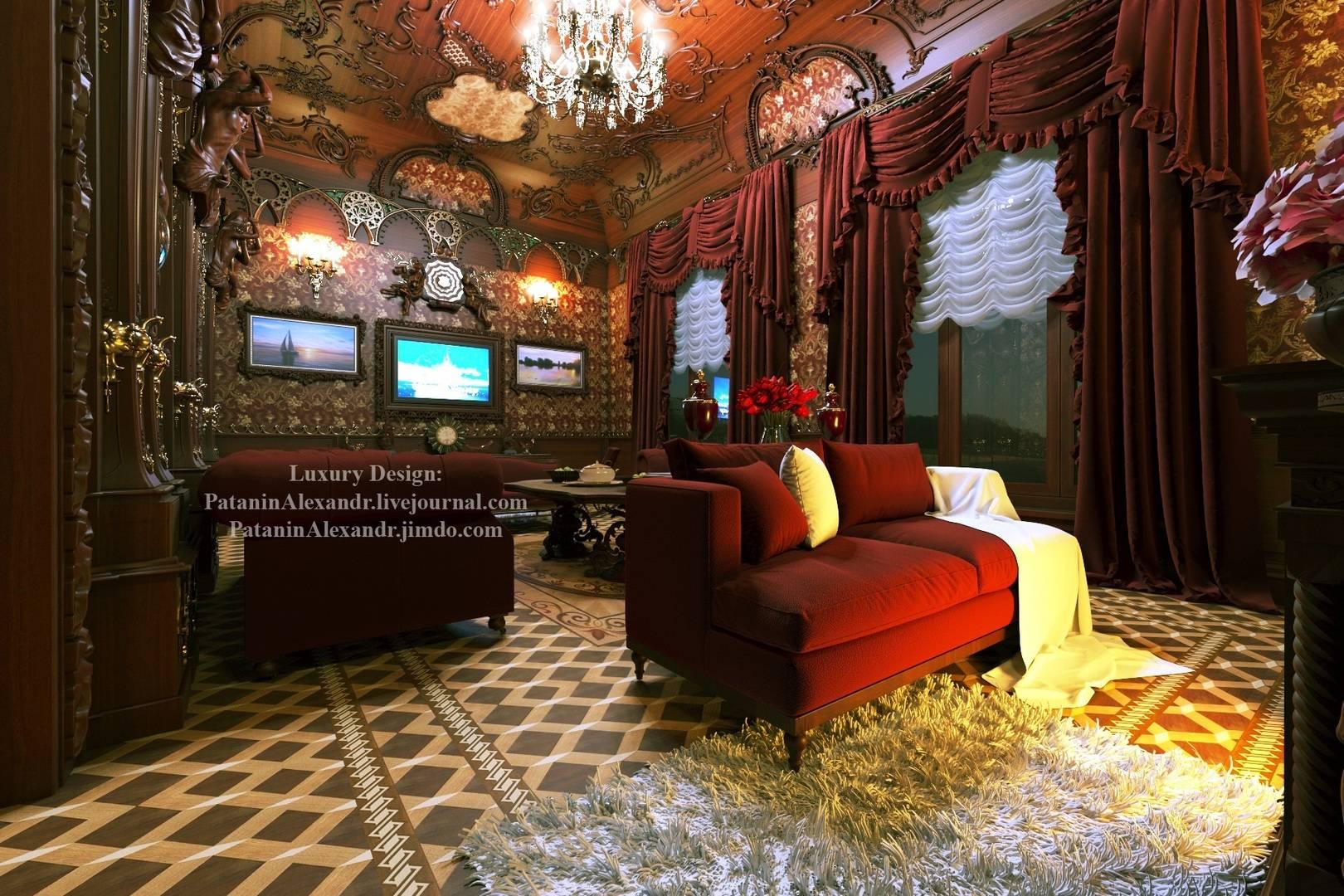 Mansion. Living room.