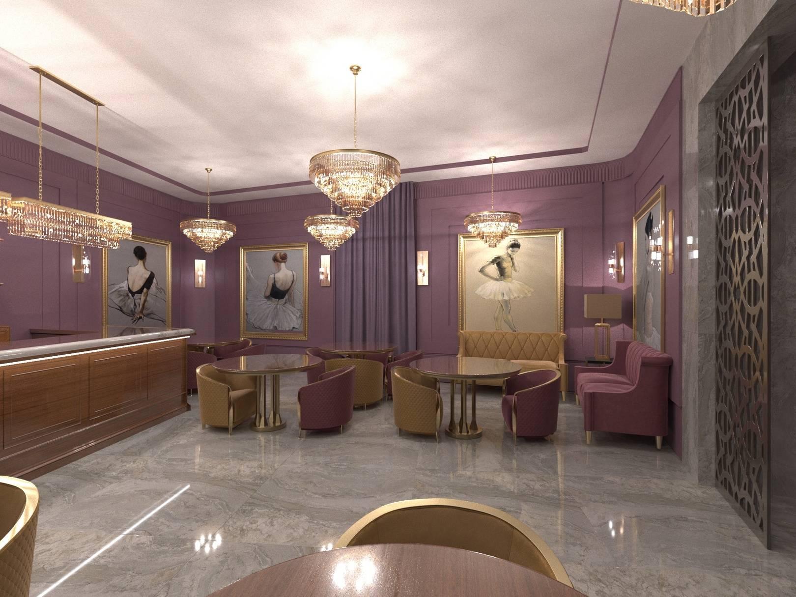 Театральный буфет 1 этажа.