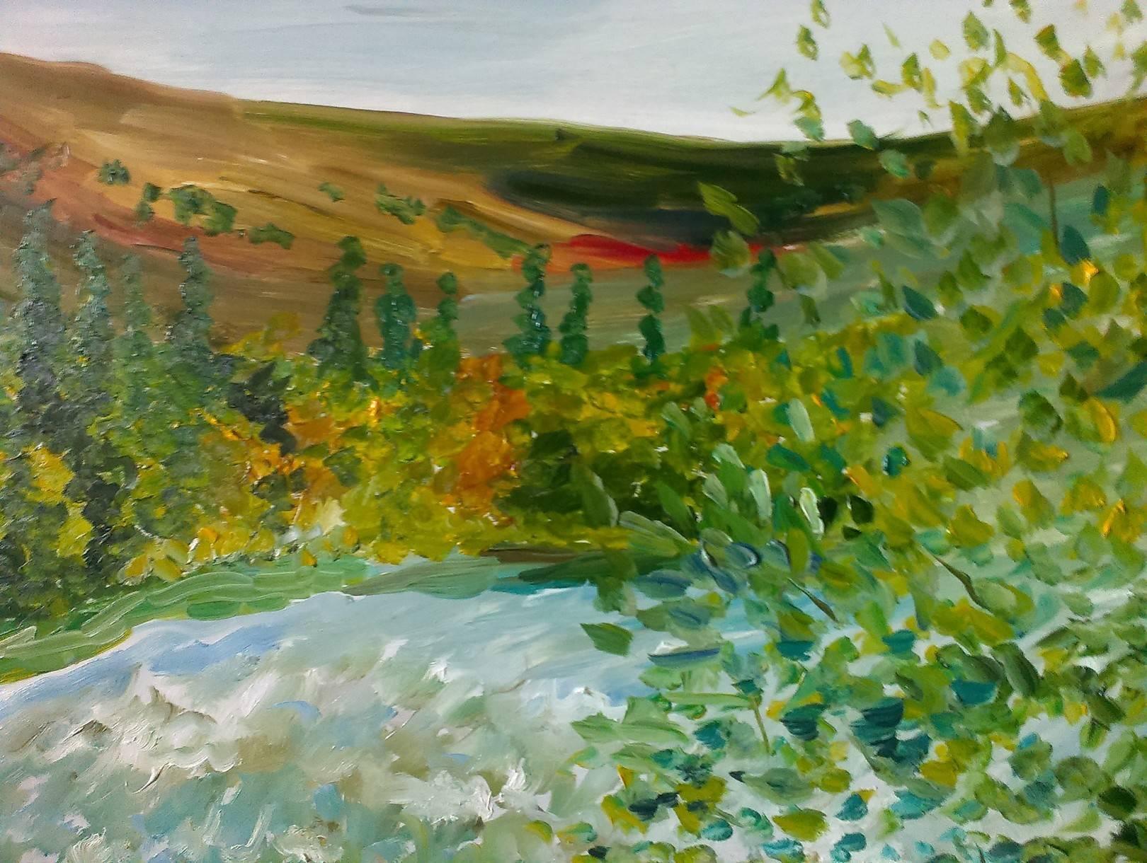 Деревенский пейзаж 2
