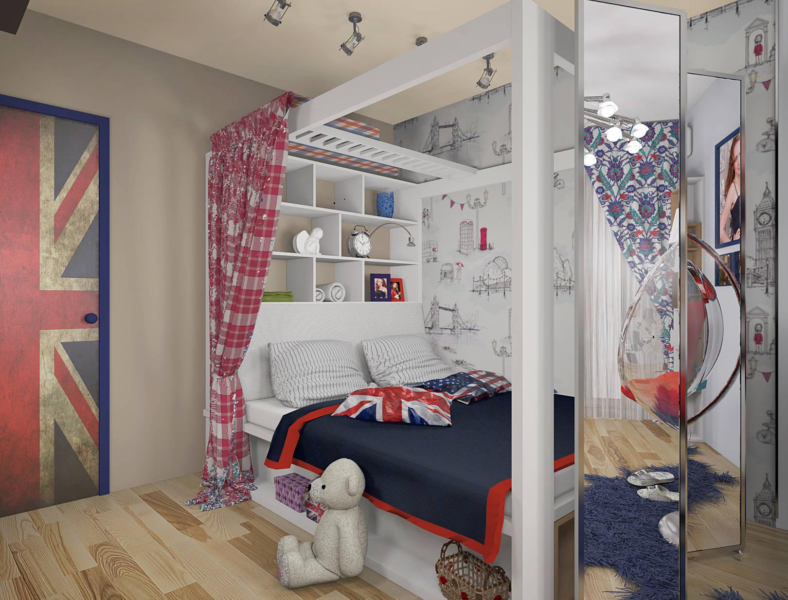фото дизайна подростковой комнаты