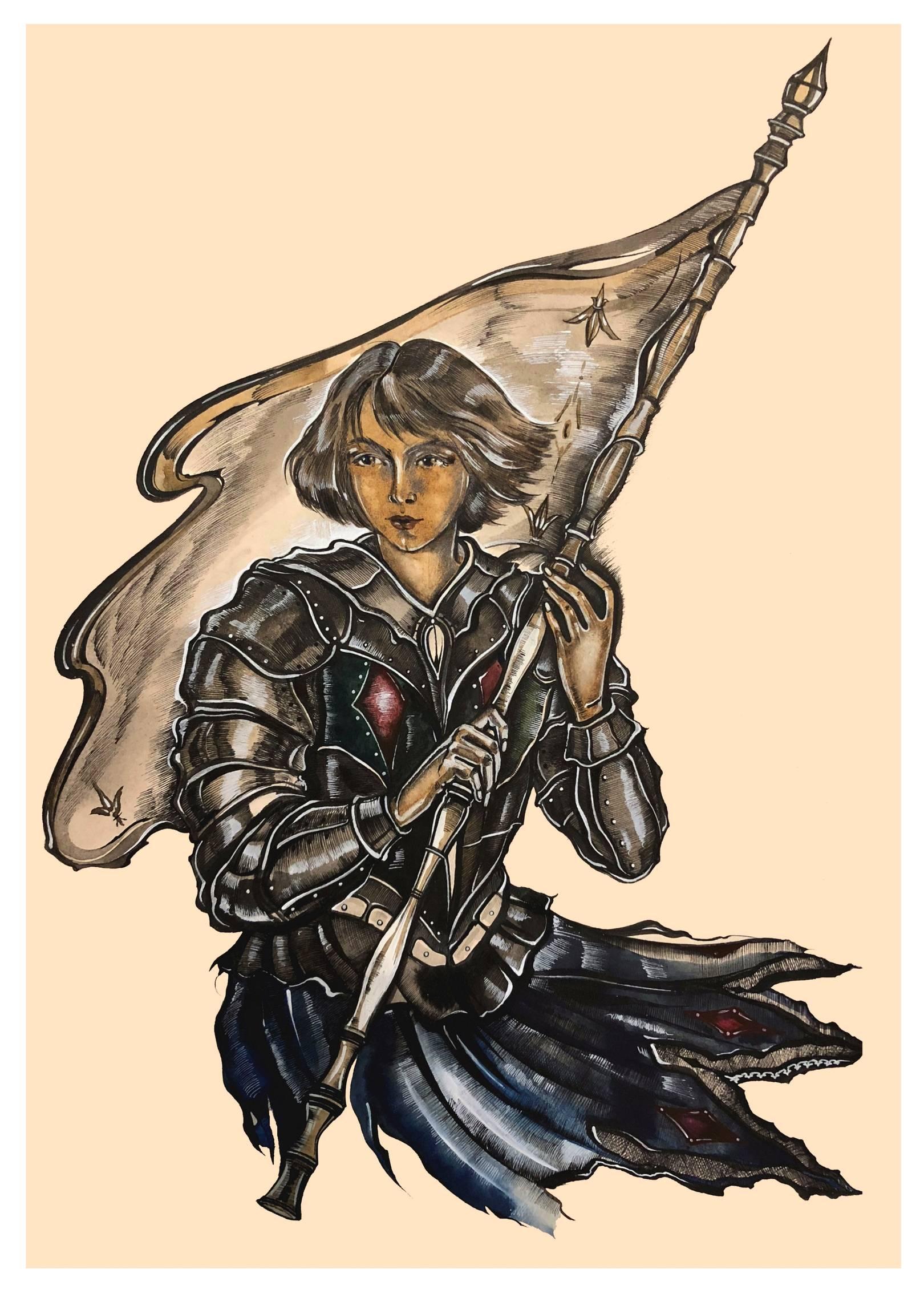Личные воспоминания о Жанне д'Арк сьера Луи де Конта, её пажа и секретаря. Роман Марка Твена