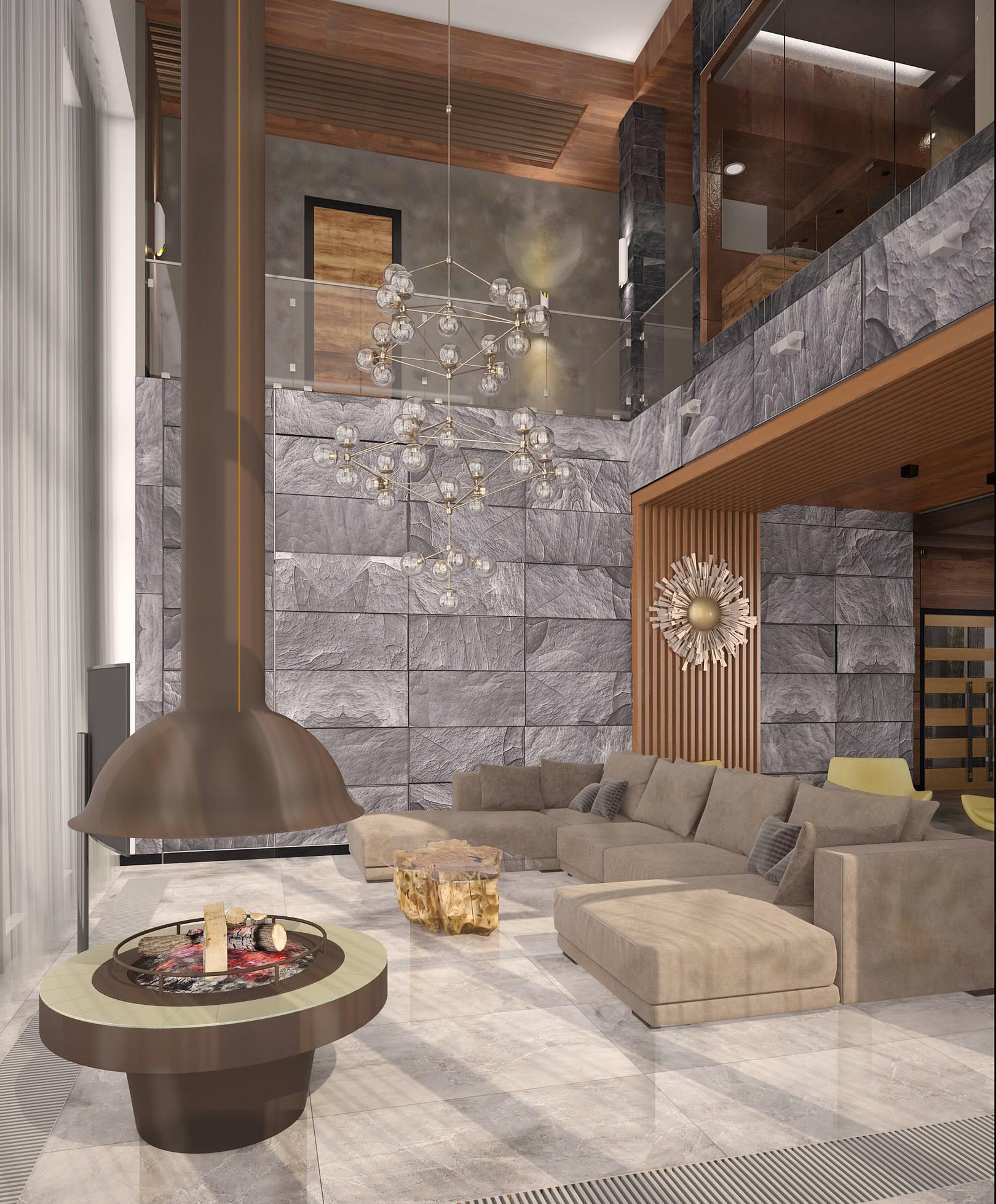 Камин это современное стильное устройства для обогрева дома