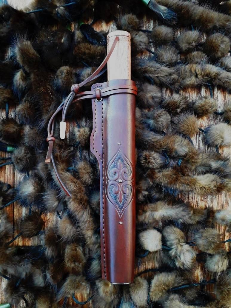 """Нож якутского типа """"Эвенк""""."""