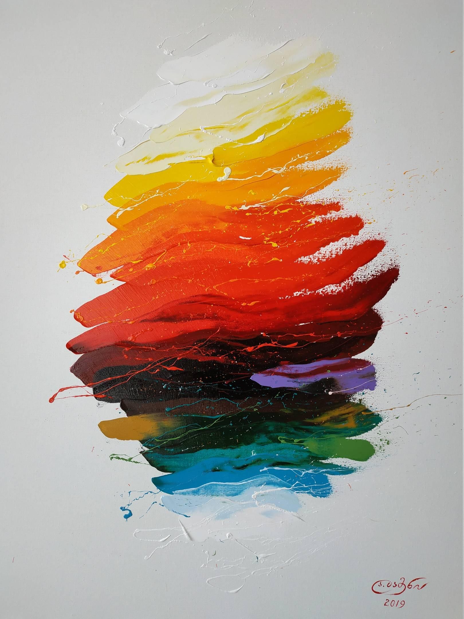 «Жаркий день»           холст, масло «Hot Day»                     oil on canvas                                                      80x60,  2019