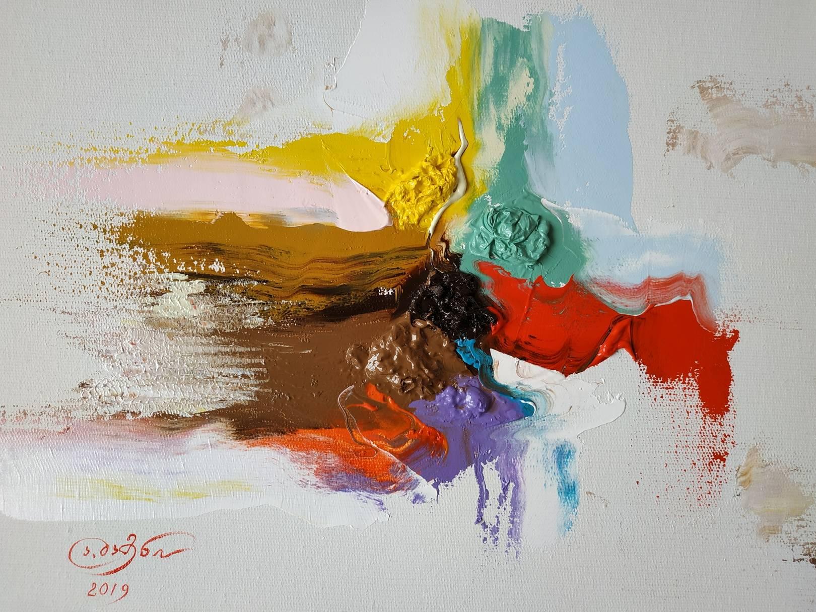 «Фантасмагория»           холст, масло «Phantasmagoria»                     oil on canvas                                                      30x40,  2019
