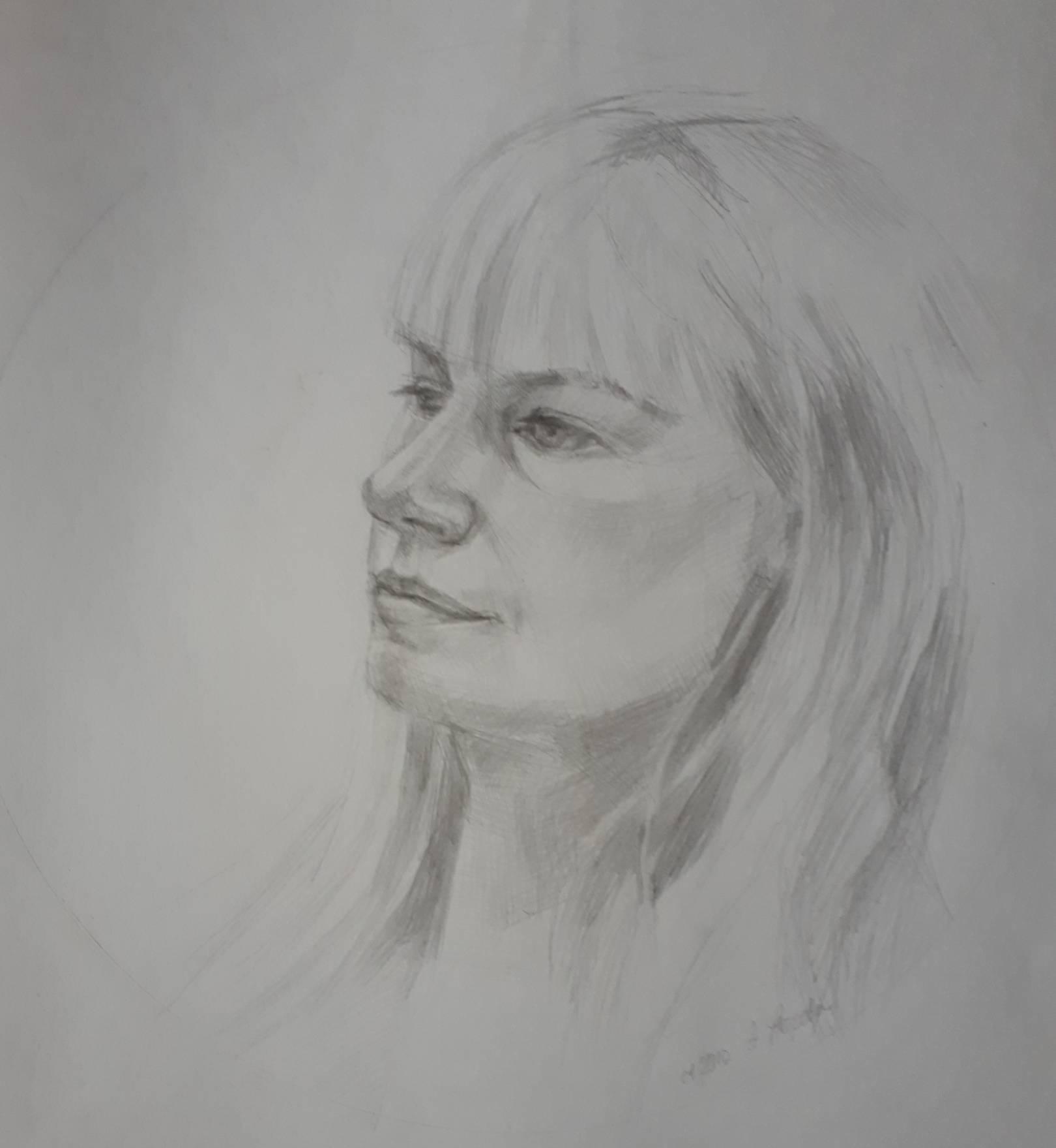Портреты, наброски, этюды
