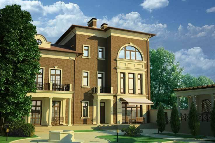 Индивидуальный жилой дом в Махачкале