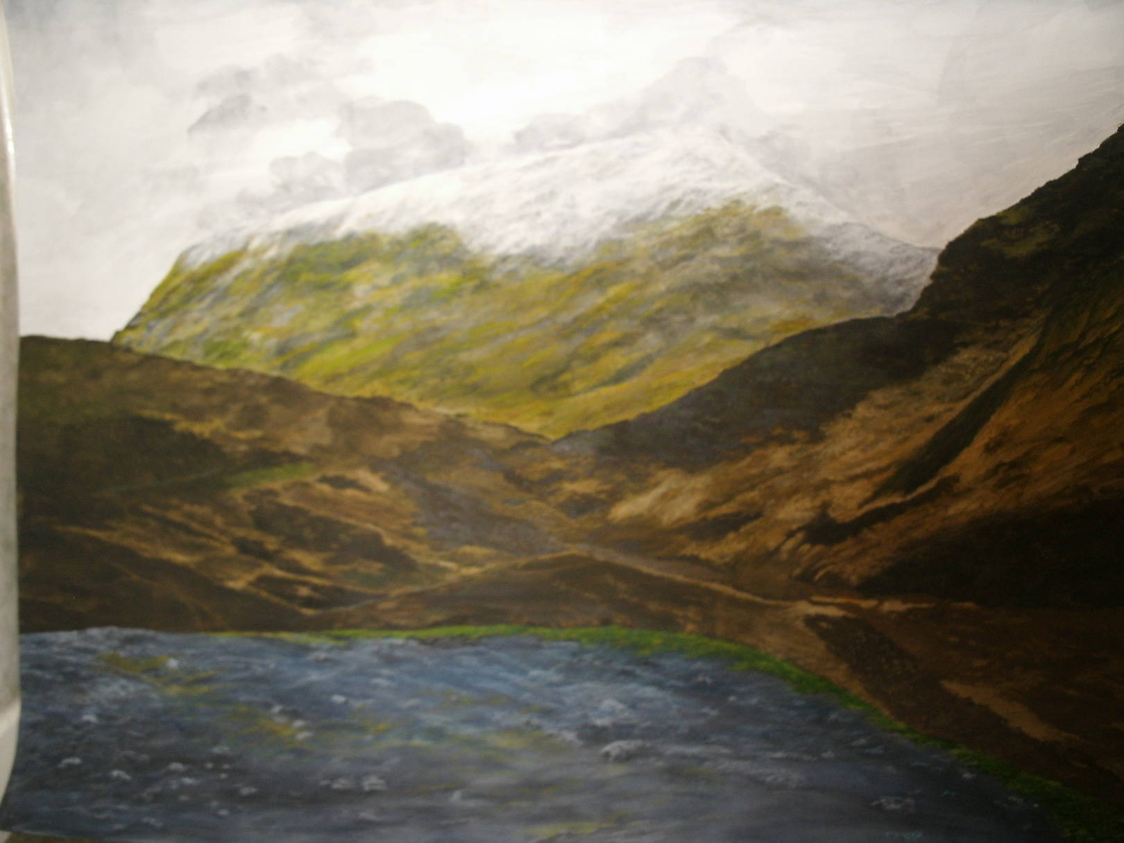 Ben Nevis Mountain, Scotland United Kingdom