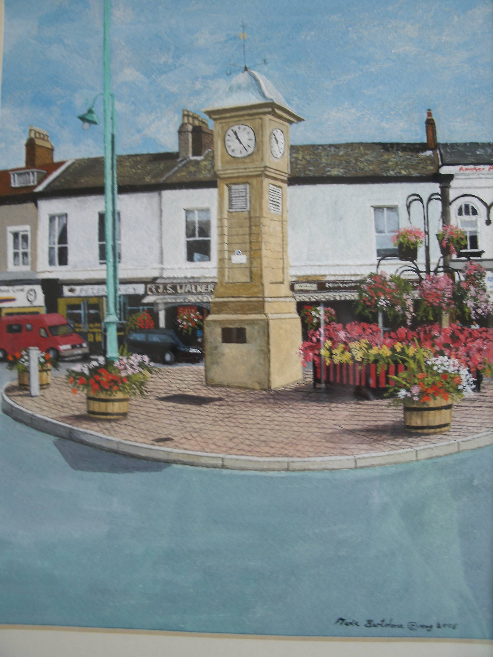 Fleetwood Town Centre And Clock, United Kingdom, England