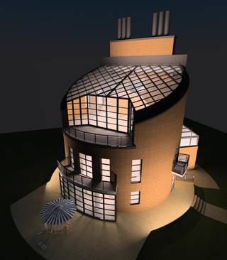 Жилой дом с мастерской