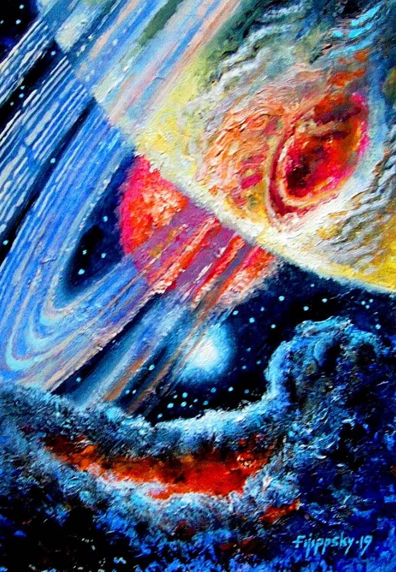 Экзопланета в системе двойной звезды.