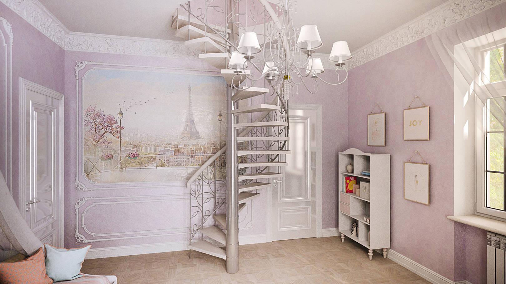 Детская комната для принцессы
