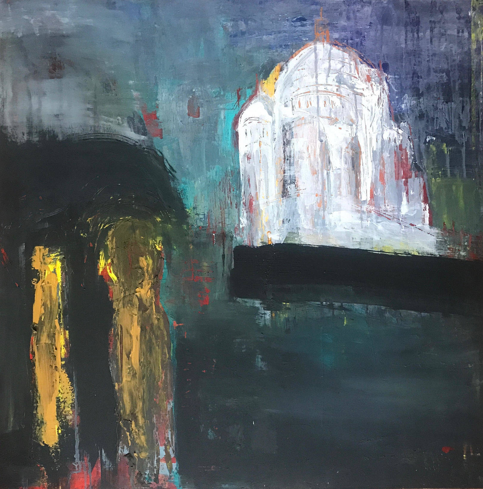 Sacre-Coeur 2019 canvas 80X80 acril