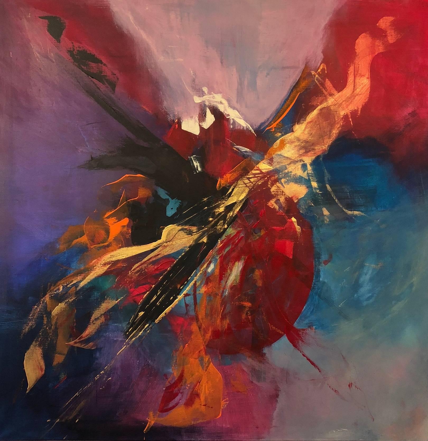 Mephisto 2018 canvas 100X100 acril
