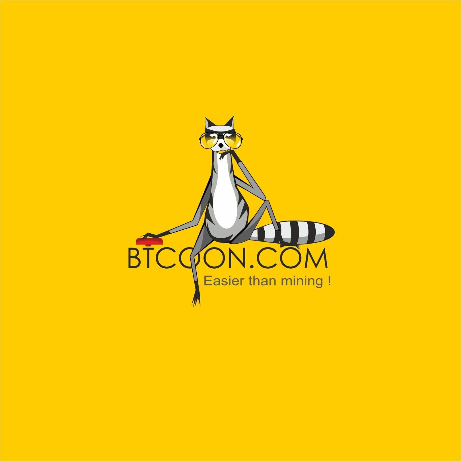 Логотип для BTCOON.COM