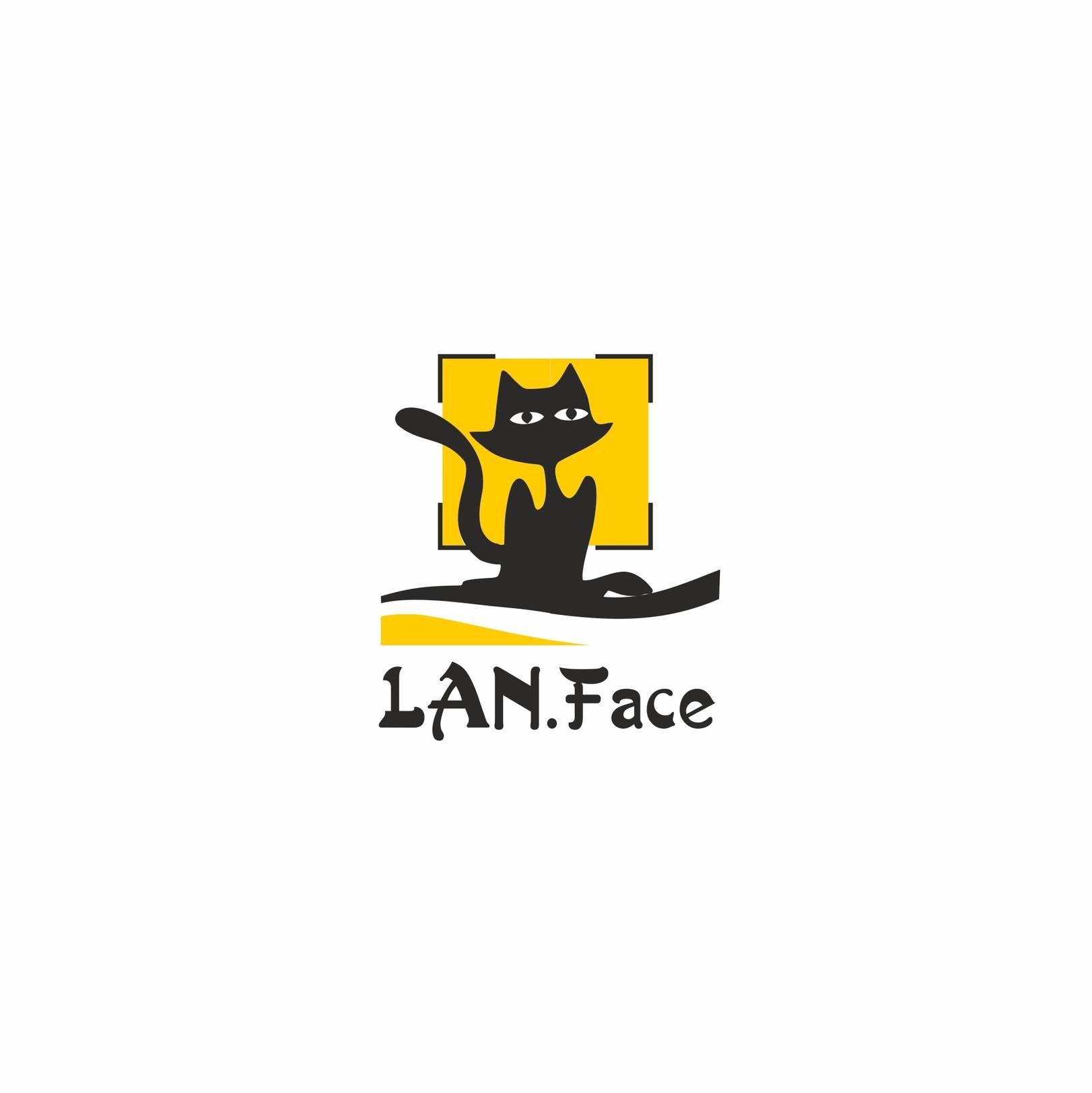 Логотип для LAN.Face