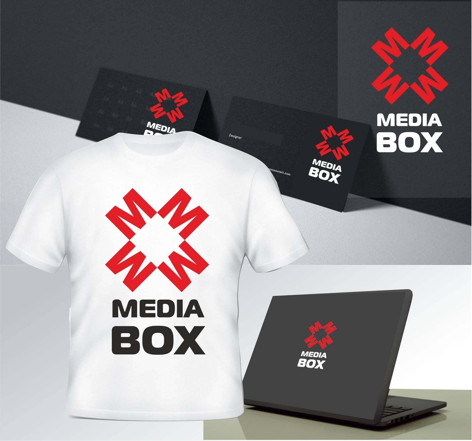 Логотип для MEDIA BOX