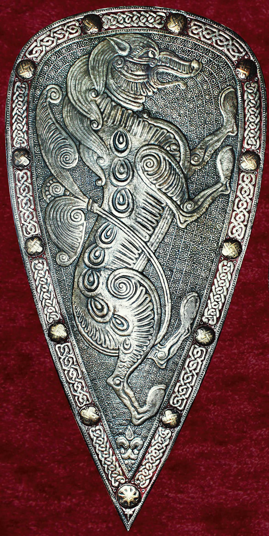 Миндалевидный щит-панно ВОЛК 113 х57 см