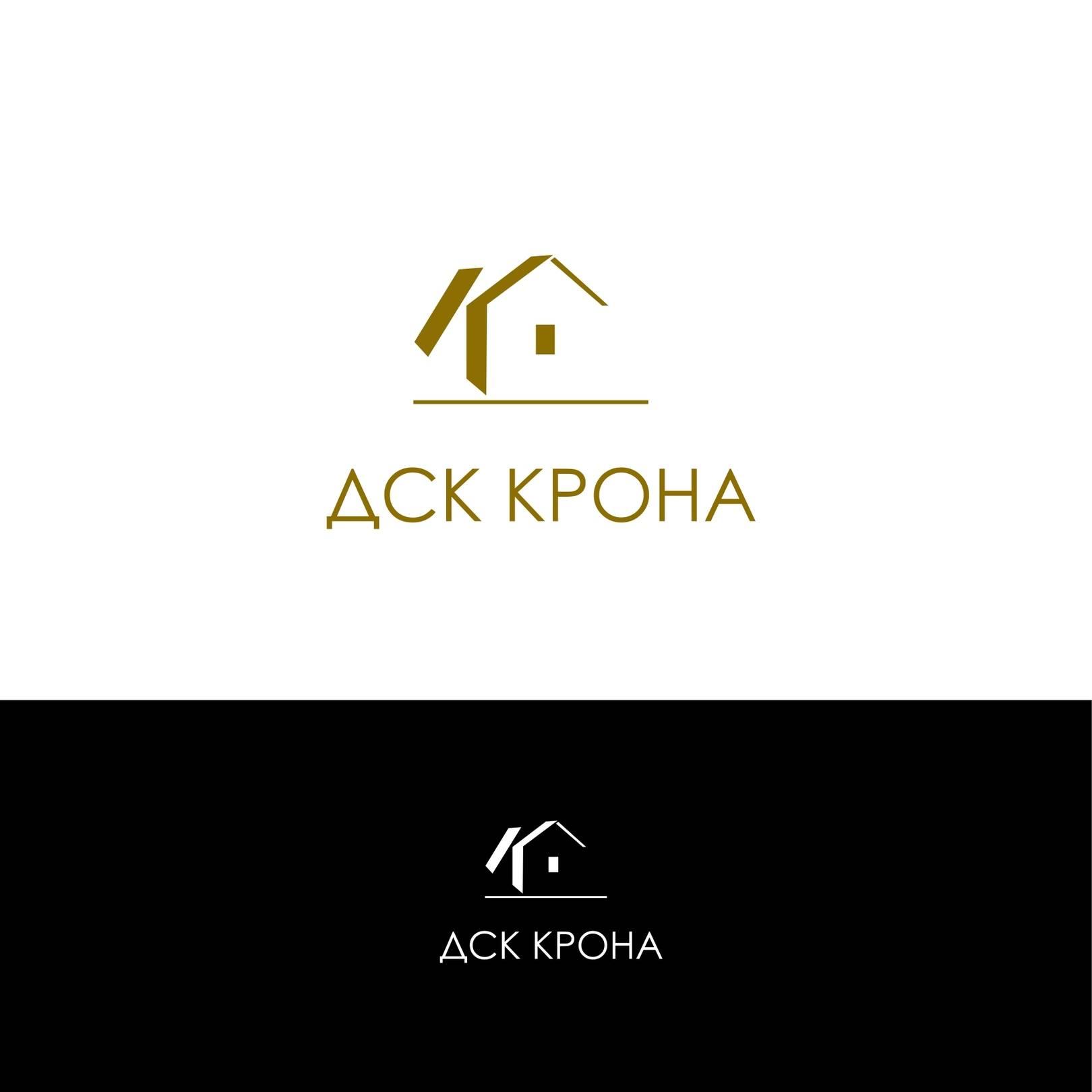Логотип для строит.компании Крона