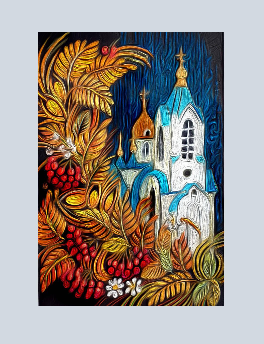 Свято-Введенский храм. Красноярский край. Сосновоборск.