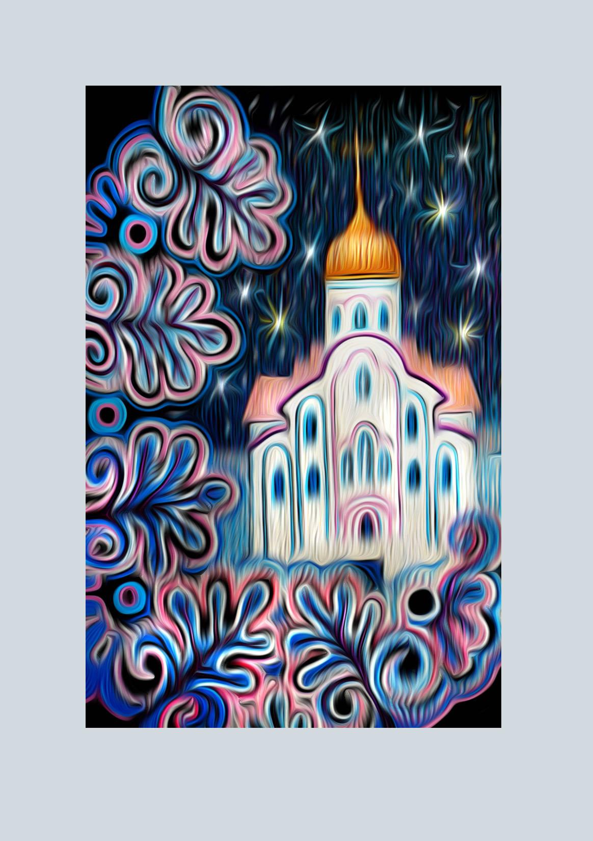 Церковь Андрея Первозванного. Красноярский край, Лесосибирск.