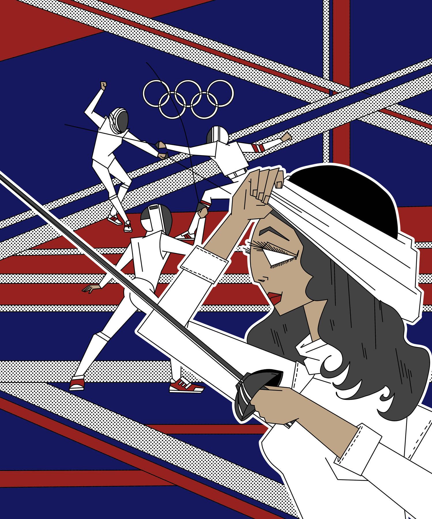 Еле́на Дми́триевна Бело́ва — советская фехтовальщица на рапирах, 4-кратная олимпийская чемпионка, многократная чемпионка мира и СССР, единственная олимпийская чемпионка в индивидуальном виде в истории советского фехтования. Экс-рекордсменка по количеству завоеванных золотых олимпийских медалей по фехтованию на рапирах среди женщин