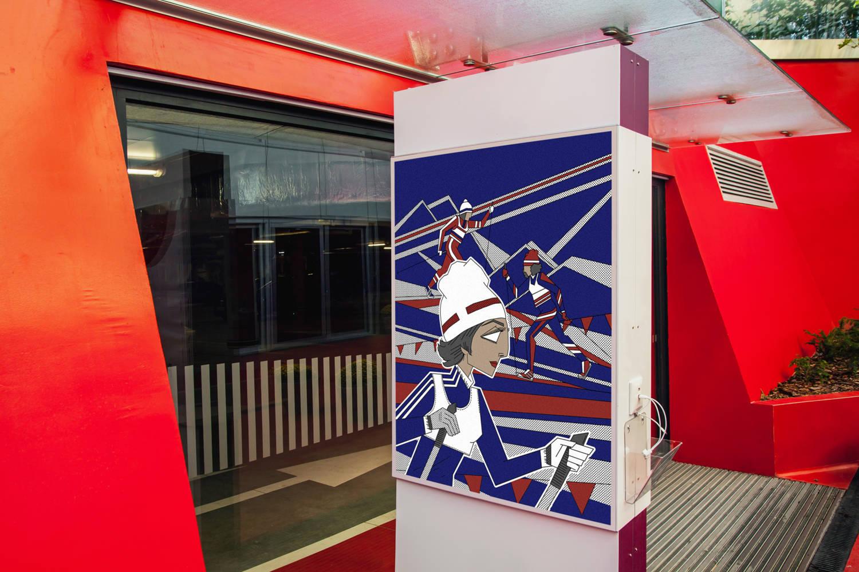Рекламные постеры для входа в фитнес - клуб. Раи́са Петро́вна Смета́нина — советская и российская лыжница.