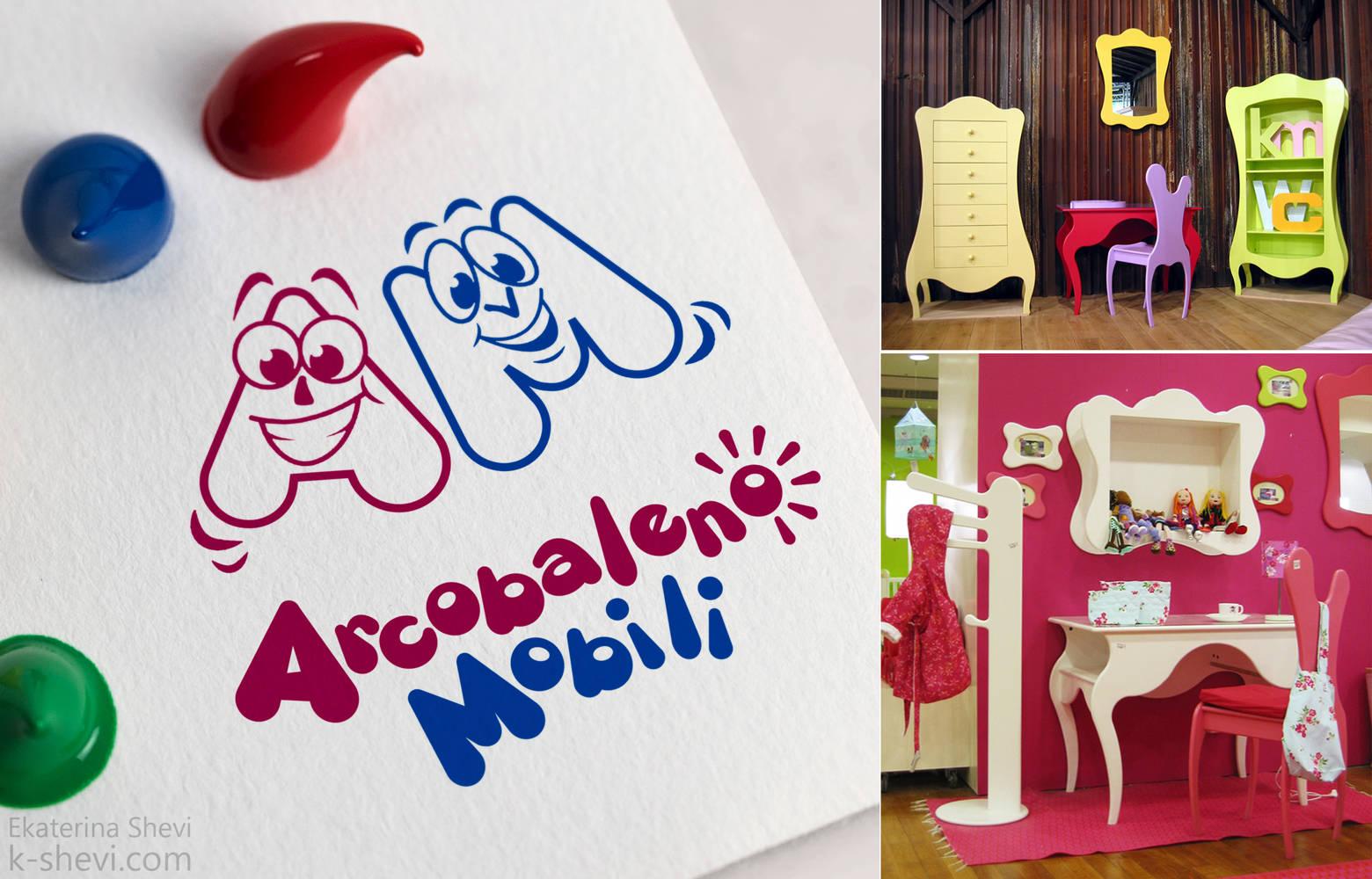 Логотип для мастерской детской мебели