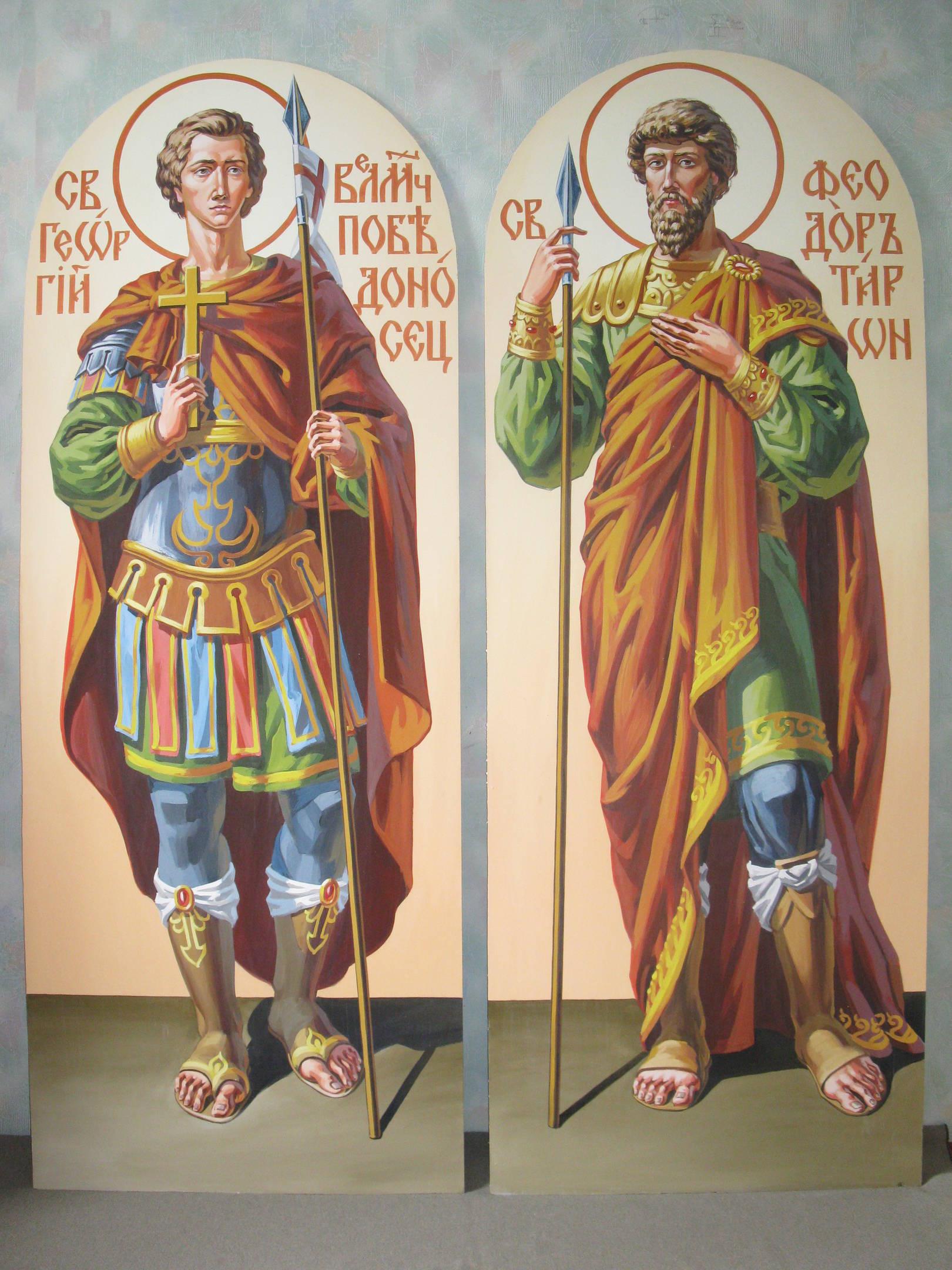 иконы на фасад собора