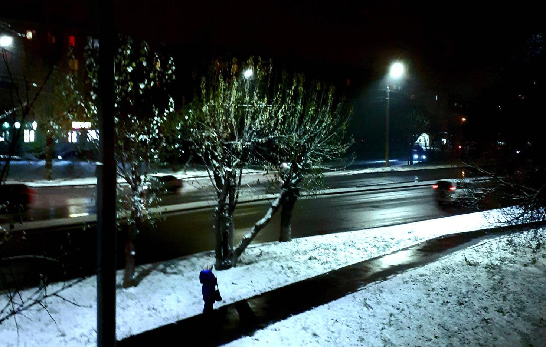 Октябрьский снежок.