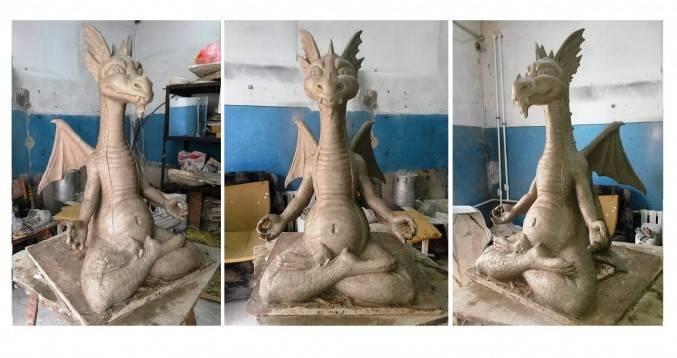 Медитирующий-дракон