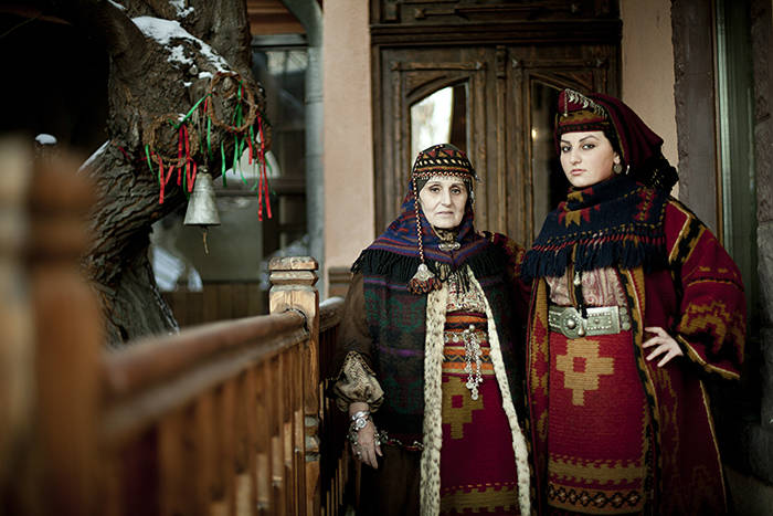 Armenian traditional  dress