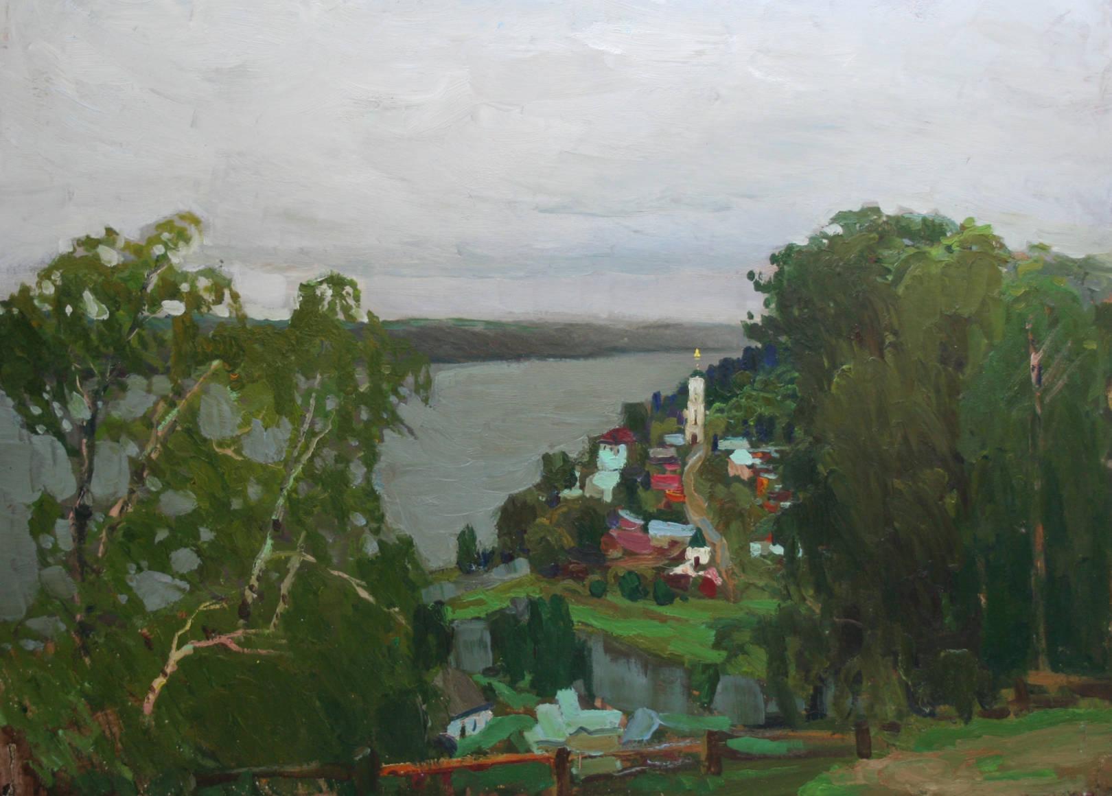 Олейников Сергей Николаевич. Золотой Плес