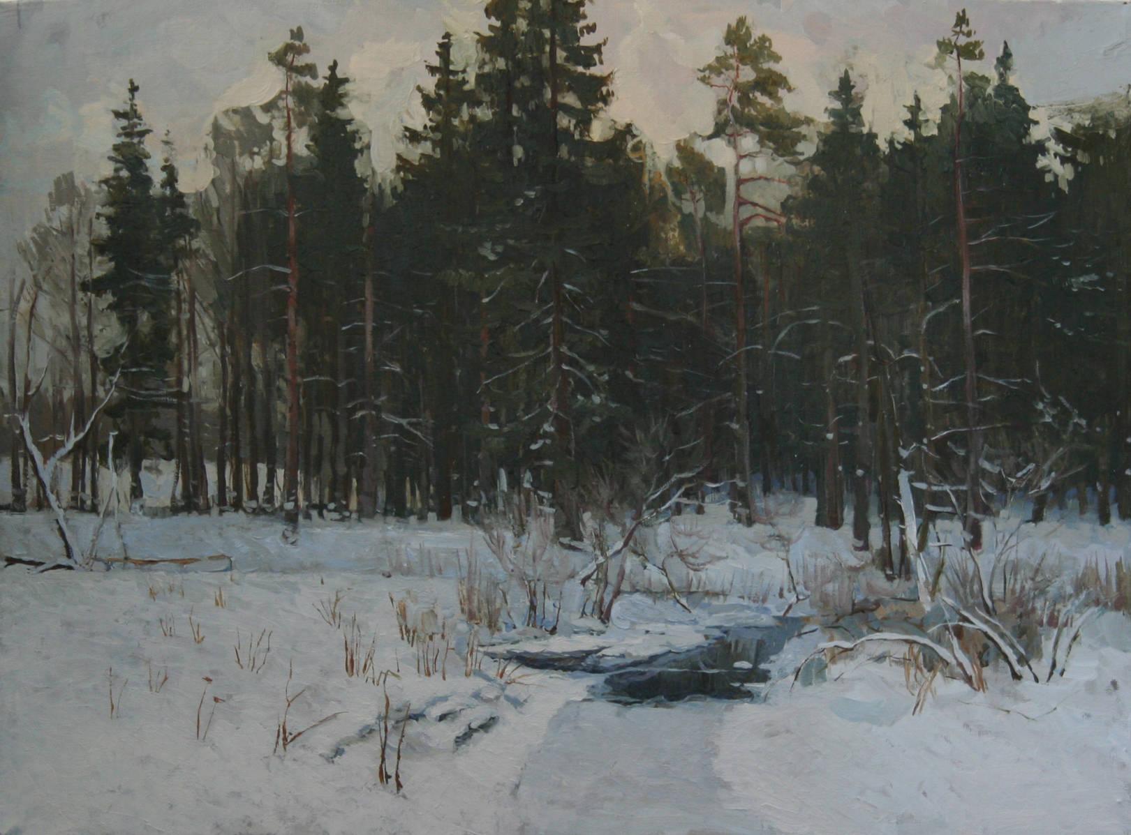 Олейников Сергей Николаевич. Этюды. Россия