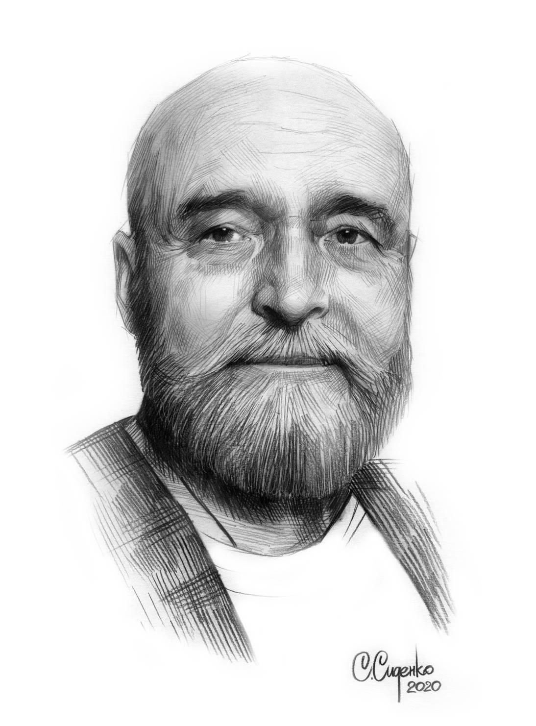 Портрет художника В.И. Звягина