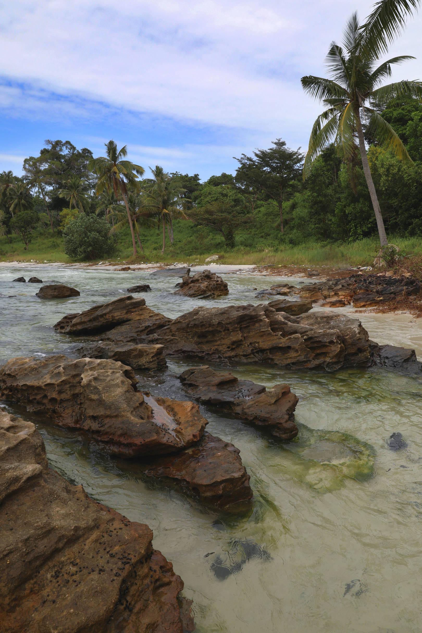 Тропический остров Фукуок