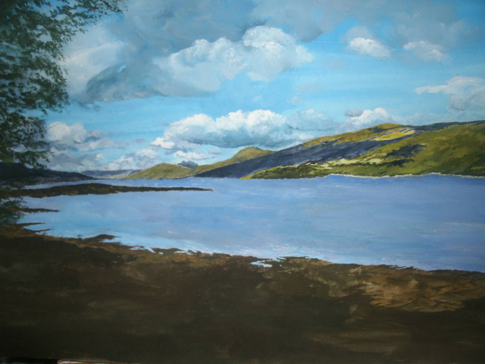 Title: Tranquil Waters  Loch Fyne Inveraray Scotland