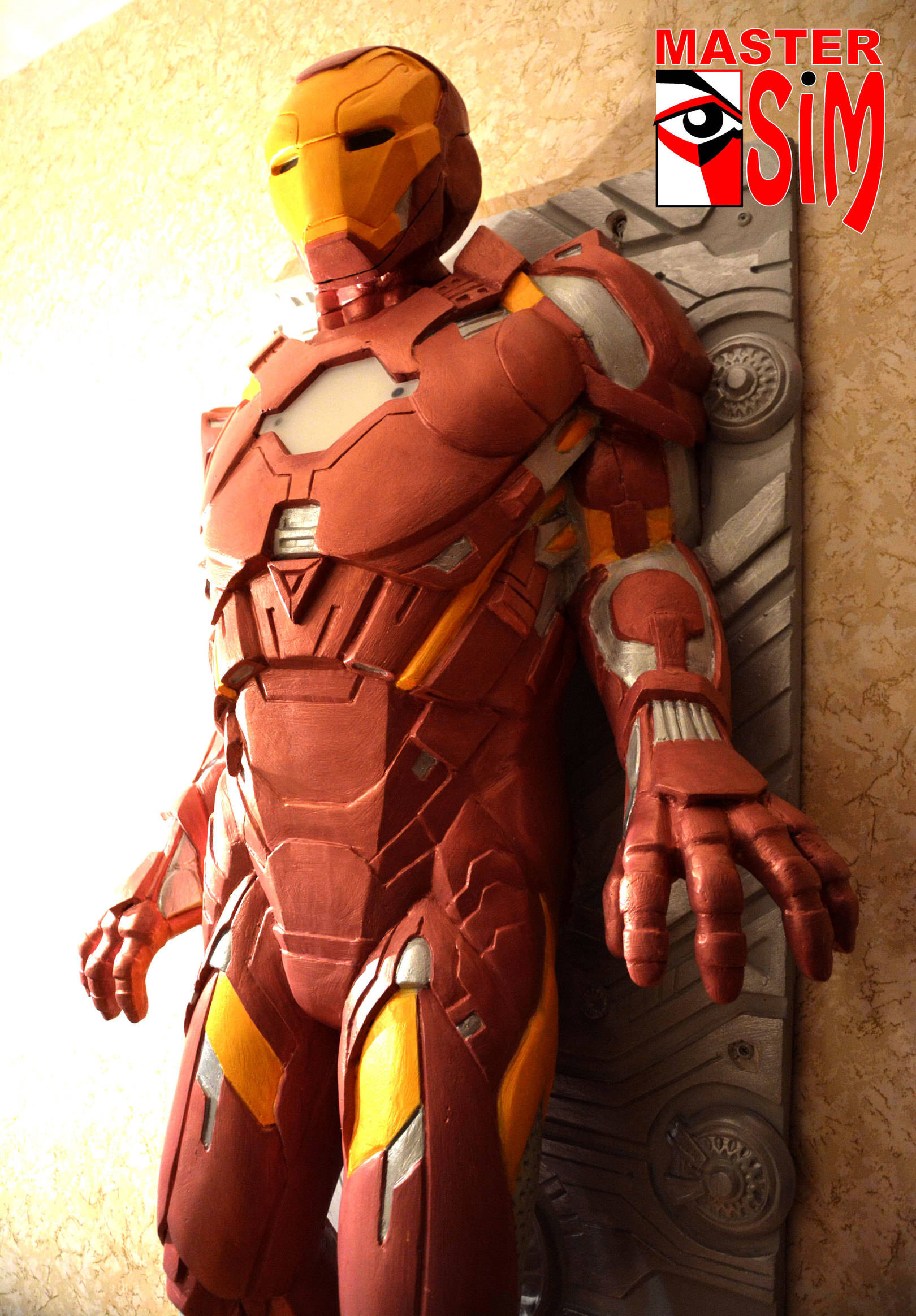 Скульптура Железный человек