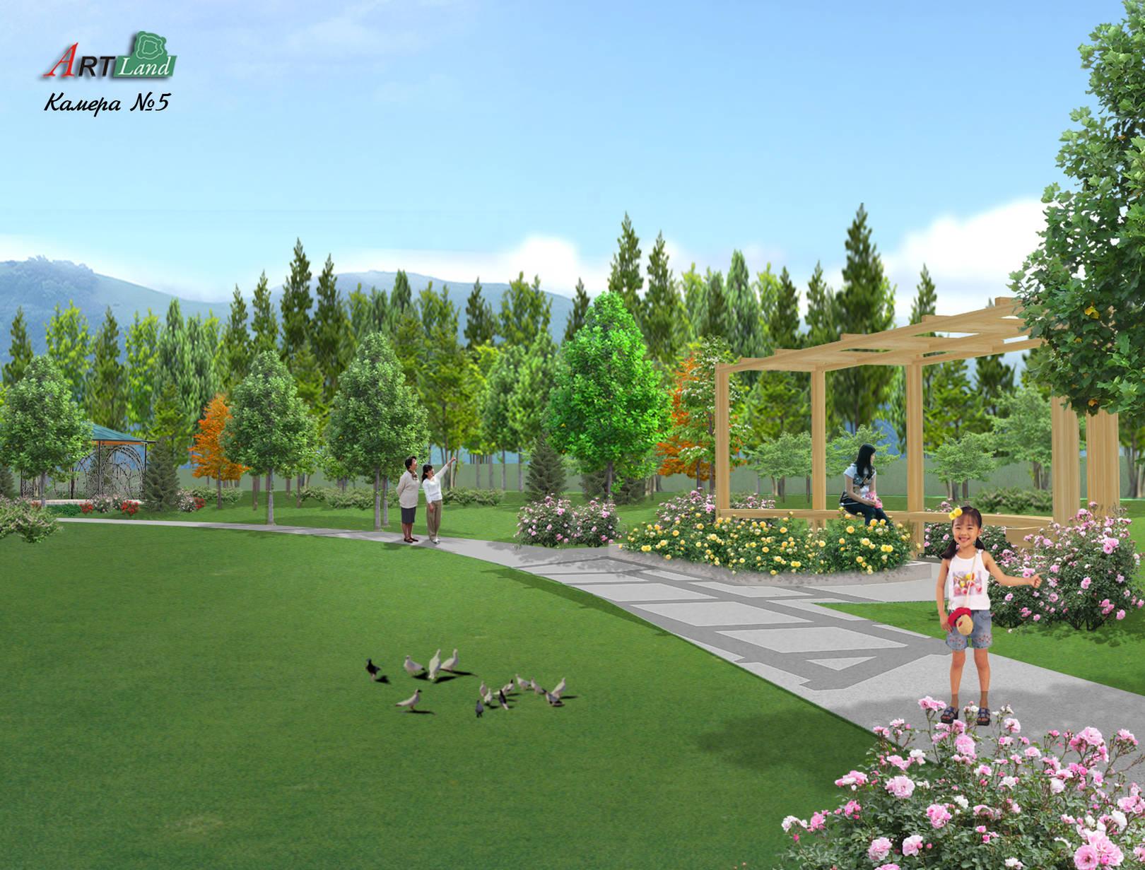 Проект частного парка
