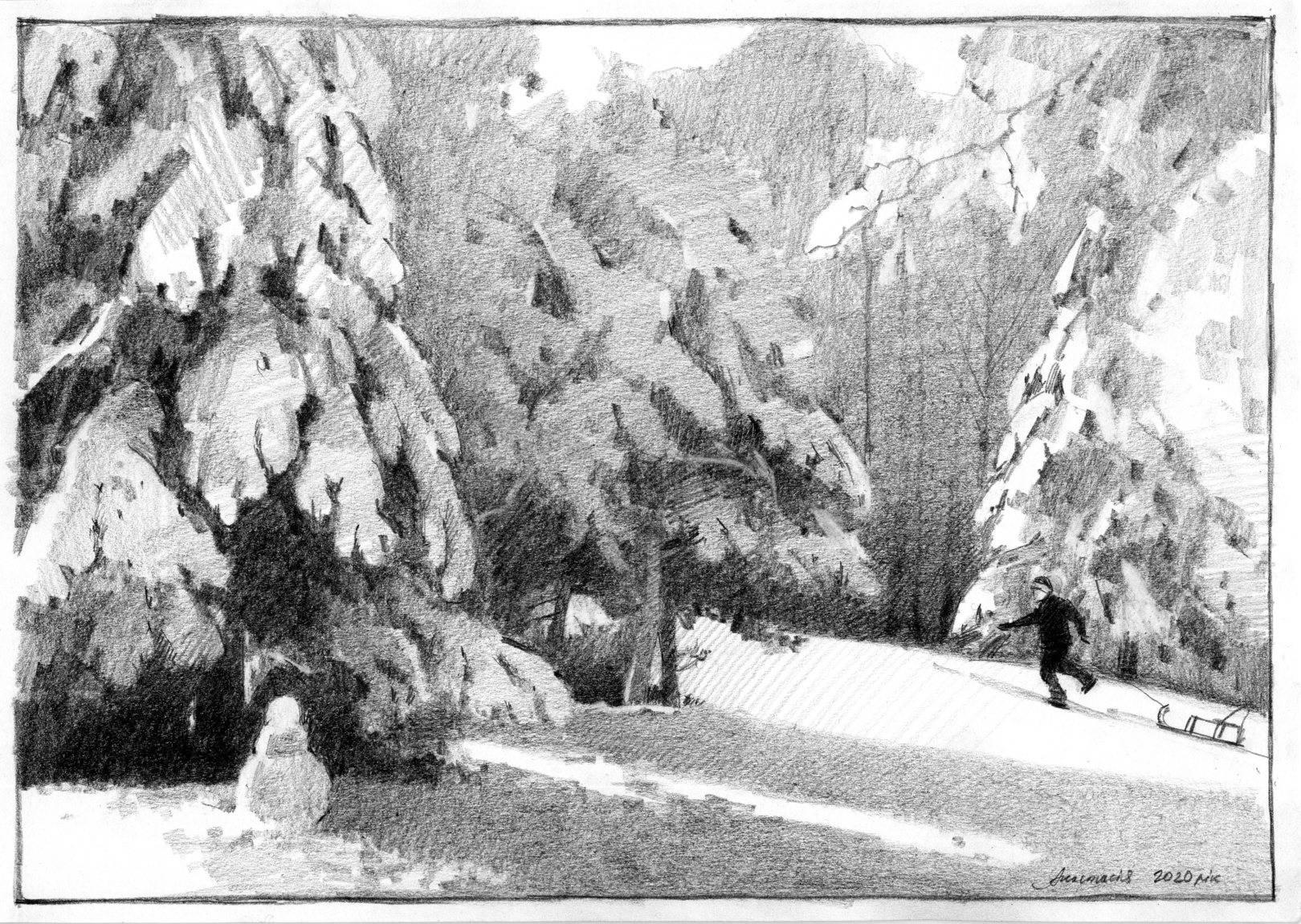 Зимние зарисовки