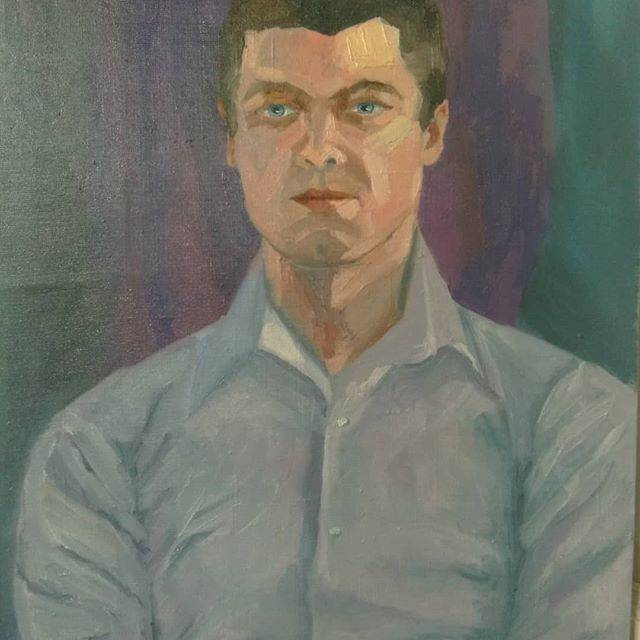 Портрет мужчины. Холст 50/70, масло.