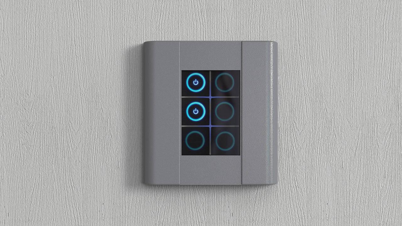2011 год. Сенсорный выключатель Kira-matic (Финляндия).
