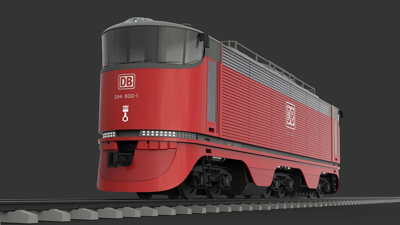 2013 год. Модульный локомотив МЛ-1 (Россия).