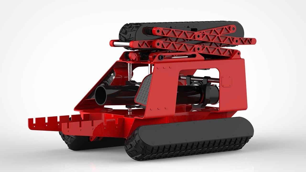 2014 год. Робот для подземных работ (Россия).
