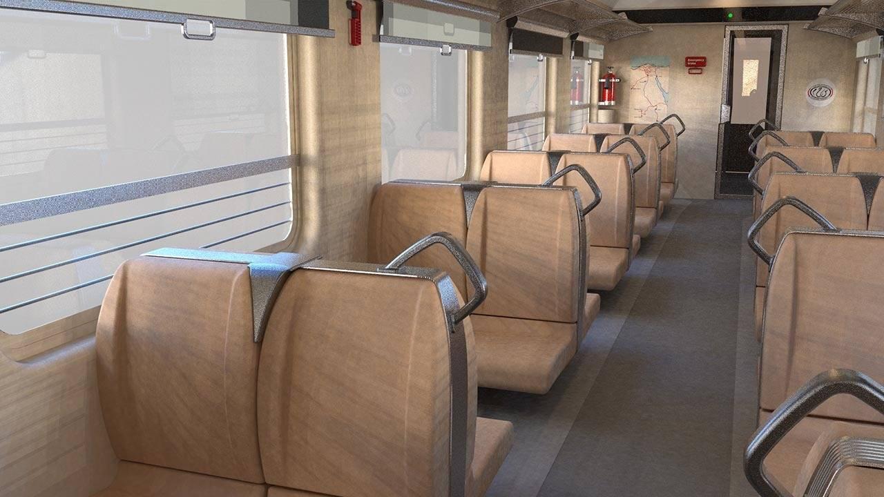 2016 год. Пассажирский вагон для железных дорог Египта (Латвия).