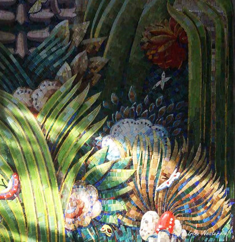 яркая мозаика
