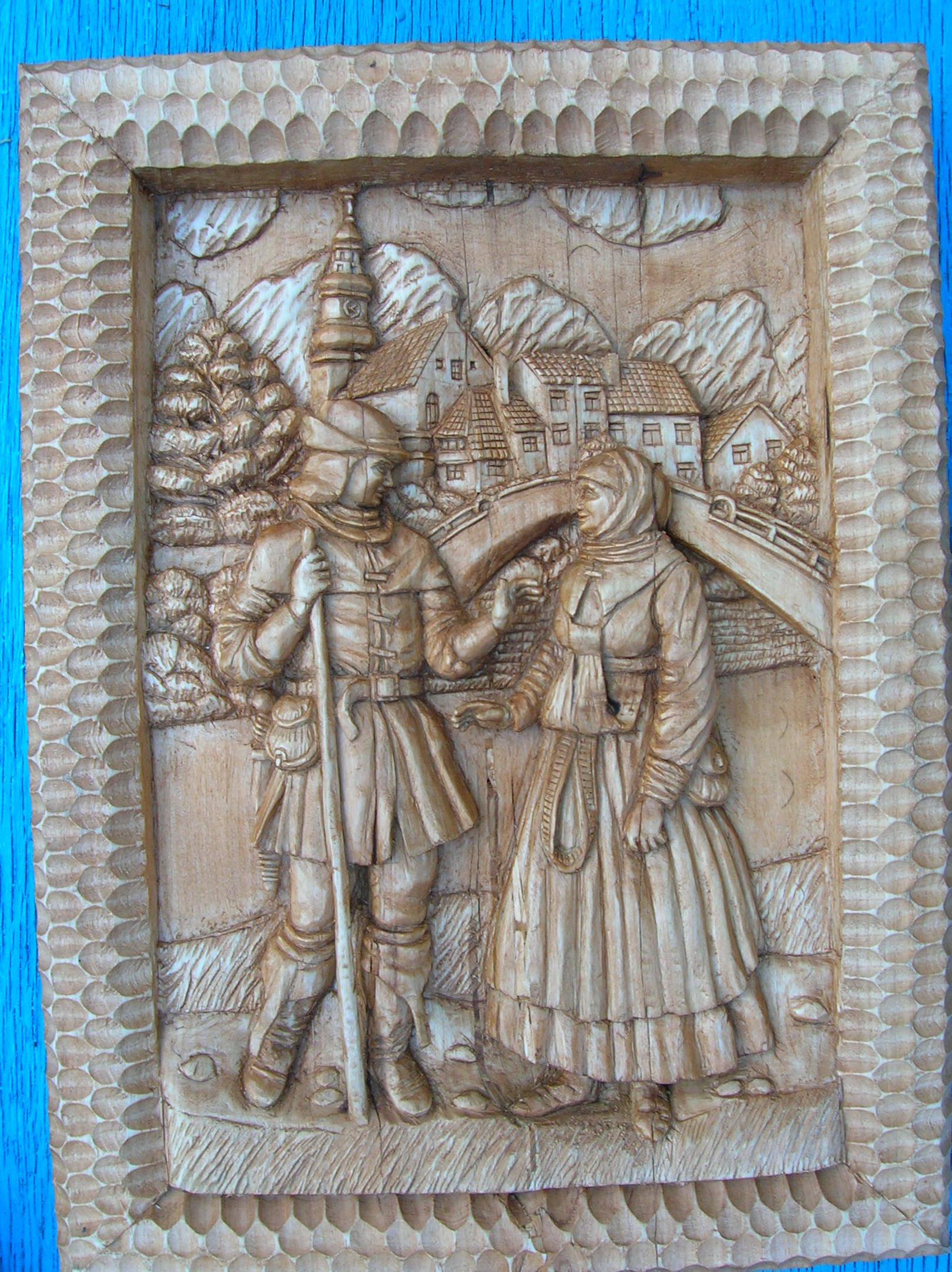 Свидание охотника и работницы, занимающейся отбеливанием тканей. Костюмы 16 века Мост построен 1927 году, но уж очень захотелось устроить свидание на фоне именно Радужного моста