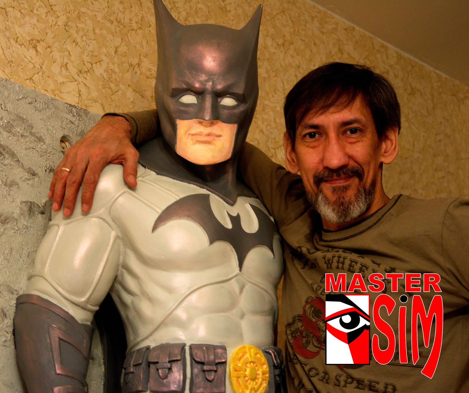 Барельеф (горельеф) Бэтмен для детской стоматологии Санкт Петербург.