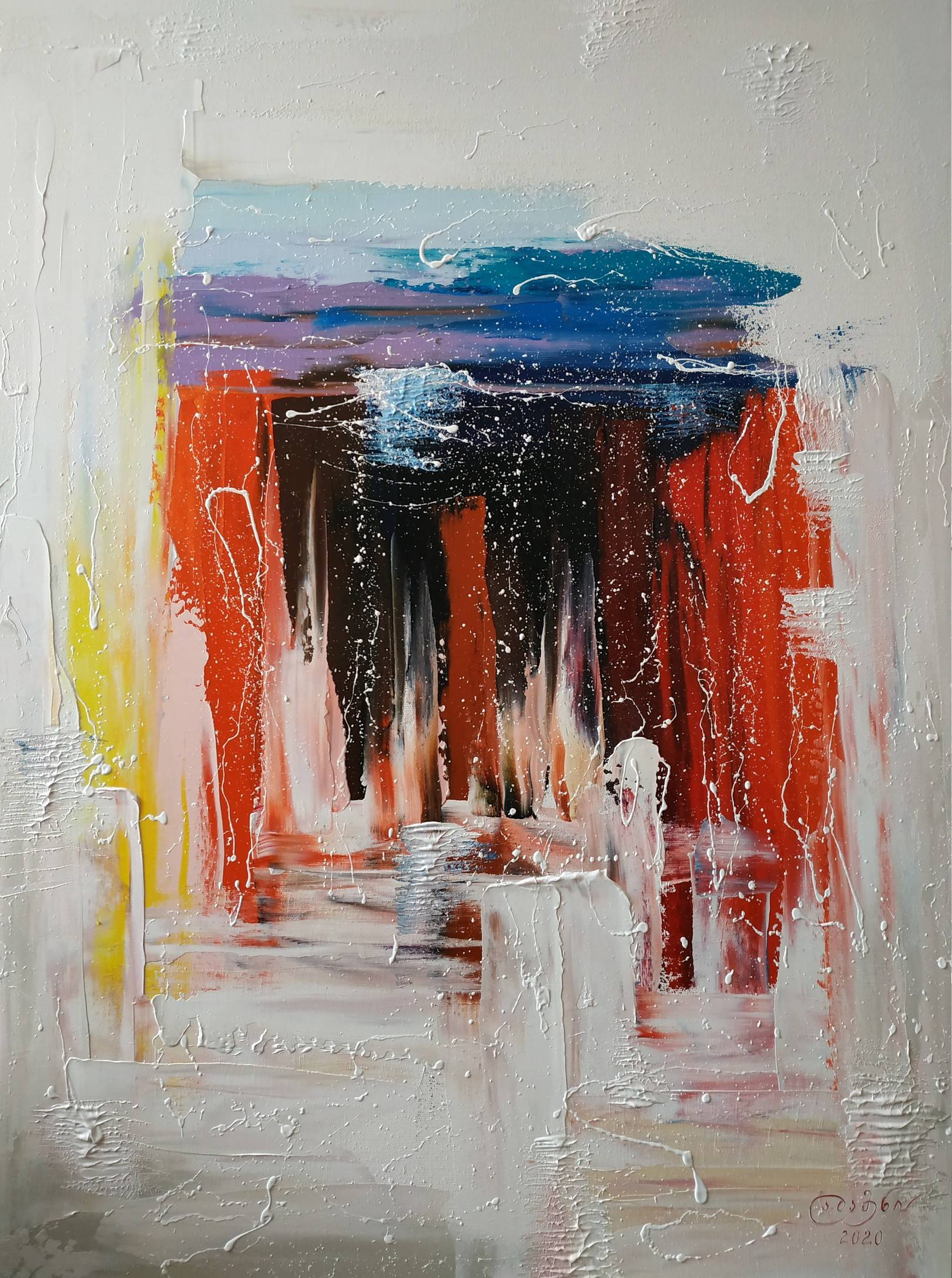«Портал»       холст, масло «Portal»  oil on canvas                                                      90x70,  2020